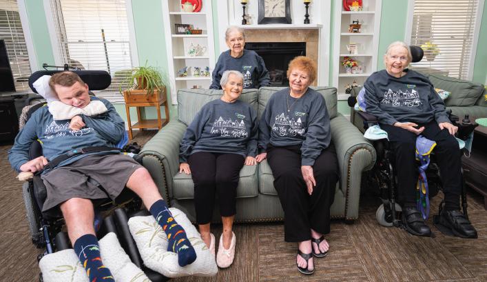 Otterbein Perrysburg Small House residents