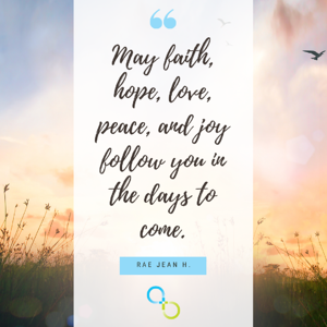 Faith, hope and love quote image