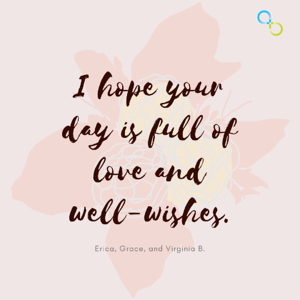 Full of love and well-wishes quote image