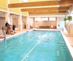 Otterbein Lebanon swimming pool.